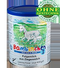 Bambinchen 2 follow-on milk
