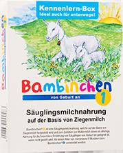 Sample Pack Bambinchen 1 baby formula
