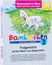 Sample Pack Bambinchen 2 follow-on milk
